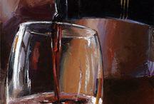 cuadros de vino