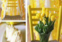 Yellow / Yellow, Yellow themed event