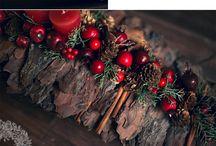 Χριστουγεννιάτικα τραπέζια