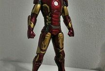 Action Figures - Marvel & DC characters