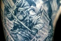 Tatu bombero