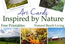 Nature Art Printables