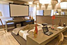 Decoração de quartos de casal / Decoração de quartos de casal, modernos, simples, rústicos e etc.