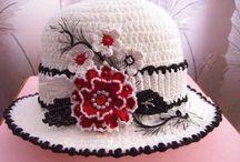 Horgolt kalap, sapka