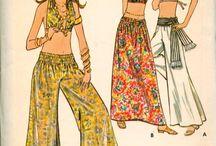 мода 70х