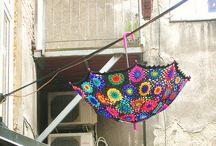 Crochet Brollies