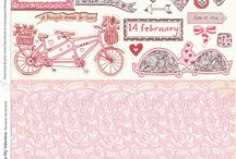 Scrapbook papers / by Lyn Hiscocks