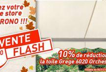 Vente Flash / Toutes les ventes flash du moment sur toiledestorebanne.com