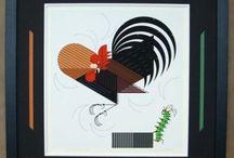 Charley Harper / The work of Ohio artist, Charley Harper