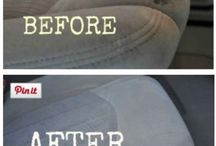 cleaning car seats