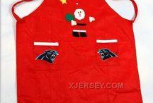 NFL Christmas Aprons