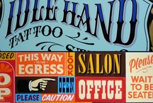 Hand Painted Signs & Type