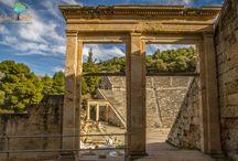 Ancient monuments of Argolis in Greece via LandLife / Visit via LandLife the ancient monuments of Peloponnese
