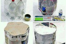 Créatif en plastic