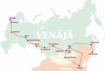 Trans-Siberian railway journey