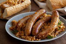Sauerkrauts and Bratwursts
