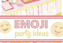 Baby Emoji birthday party