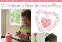 Valentine's Day / Different activities around Valentine's Day theme