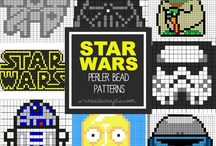 Star wars / Mostly knitting charts with motifs from Star wars