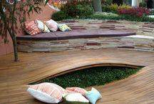 Outdoor Spaces & Gardens  / by Liz Fox