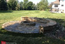 Water & Fire Landscaping Features / Water & fire features for landscape design