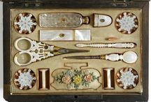 antique sewing kits