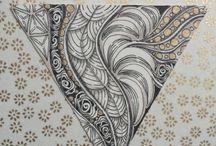 Zentangle Tangled Zentangles