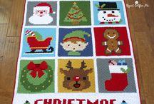 Juletæppet+andre juletæpper Christmas blankets