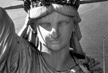 Lady Liberty ✫ ✫ ✫ / Photos, paintings & some history of our Statue of Liberty. Include historical facts with your pins if available. No porn, nudity, or profanity. Doubles in close proximity will be removed. Please respect one another by not pinning and re-pinning from contributors onto the same board. Thanks.