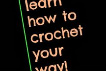 Crochet and Knitting - Stitches / Tutorials