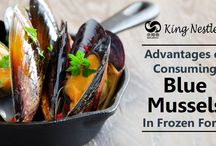 Advantages of Consuming Blue Mussels in Frozen Form