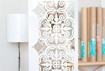 estilo marruecos patrones stencil