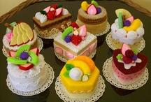 Felt food: Cakes & everything sweet