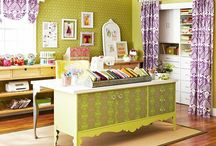 craft room  / by Chelsea Mayer