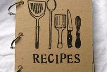 Wood burning & recipe book
