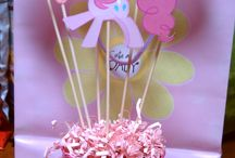 {Pink Pinkie Pie Party.} / Miss E's 4th Birthday Party Ideas.