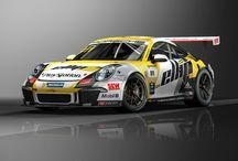 Christophe Lapierre et ellip6 / La Porsche de Christophe Lapierre triple vainqueur de la Porsche Cup, aux couleurs ellip6