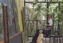 We create here / Creative spaces, creative people, art, artists