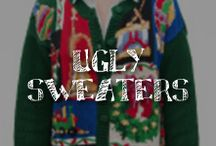 "Moore: Ugly Sweaters / Ugly sweaters?! We prefer to call them ""aesthetically-challenged,"" if you please. Whether you're donning tacky apparel for an office contest, holiday party, or just because you look *so very stylish* when you wear it, A.C. Moore has dozens of outlandish ideas for your most festive outfit, and spirited décor to match.   / by A.C. Moore Arts & Crafts"