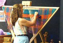 Weaving.....