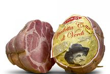 Italian food products / High quality brand of tipical products from Parma. Our experience and our work guide us to the discovery of our lands' flavours.