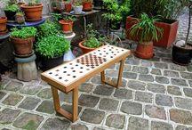 Jardines y exterior.