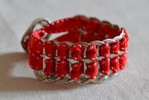 Pop top jewelry / Création de bijoux avec de la récup de canettes.