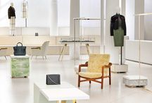 Retail Trend • Easy Luxury / Retailers are forgoing traditional store arrangements in favor of casual layouts that invite the customer to explore. It's all about discovery, intrigue and a relaxed sense of cool.
