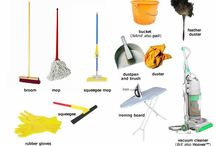 Cleaning vocabulary