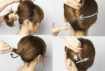 Elegantes recogidos para el cabello