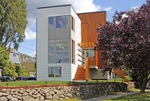 Modern homes in Seattle