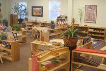 Montessori classrooms / by Melissa Geis