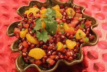 Pomegranates / Our favorite pomegranate recipes and memories....