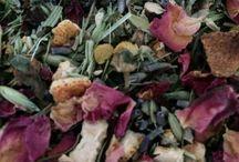 Bath Teas / Herbal teas that you can use in your bath.